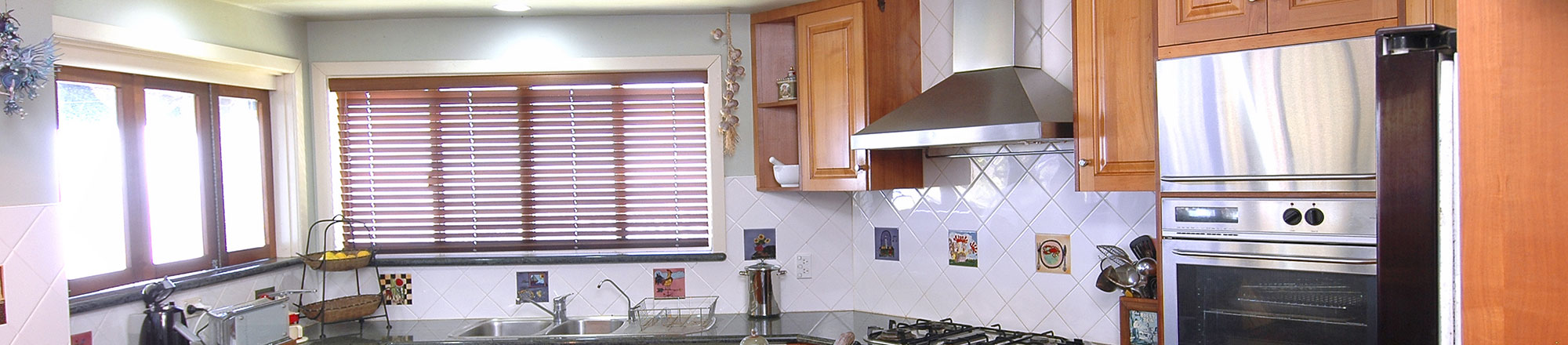 Kitchen with window shutters in Ocala, FL.