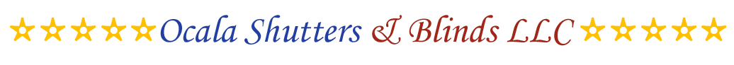 Ocala Shutters & Blinds LLC, Logo